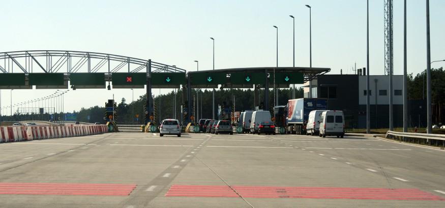 A2_(Poland)_Tarnawa_toll_plaza,_dir._Świecko